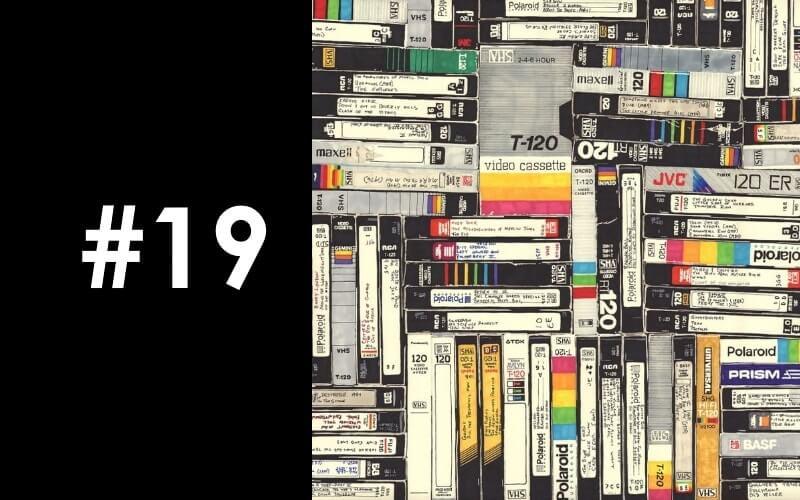 podcast επεισόδιο VHS DVD βιντεοκασσέτα βίντεο