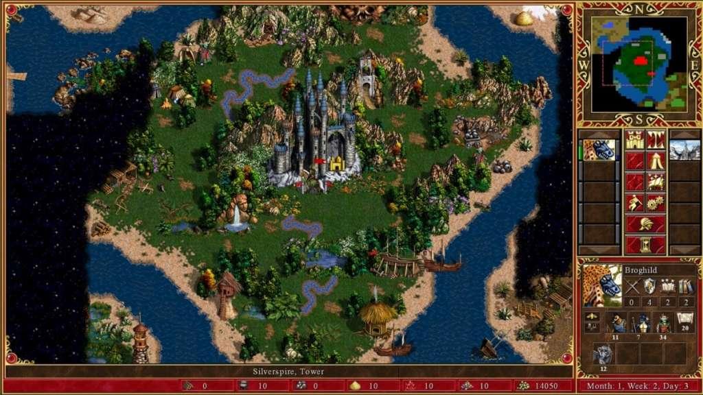 Εξερευνώντας το χάρτη του κόσμου του HOMM III