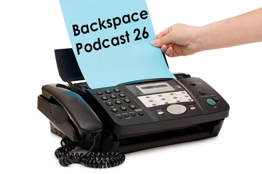 fax φαξ τηλεομοιτυπία backspace podcast 26