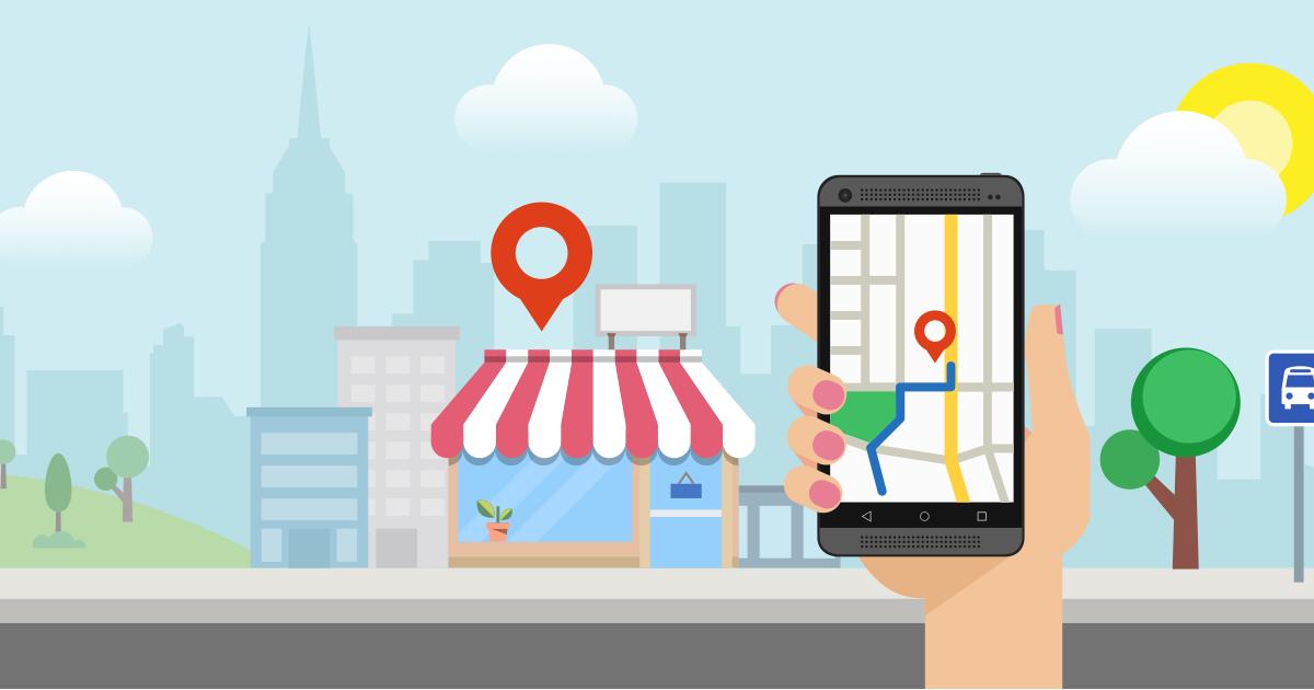 Google καταστήματα Live