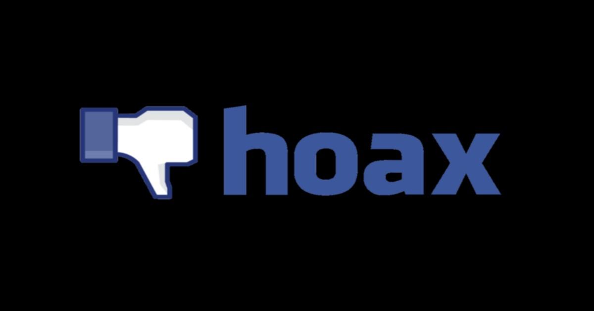 Το facebook , τα Hoax και μια πρώτη λύση