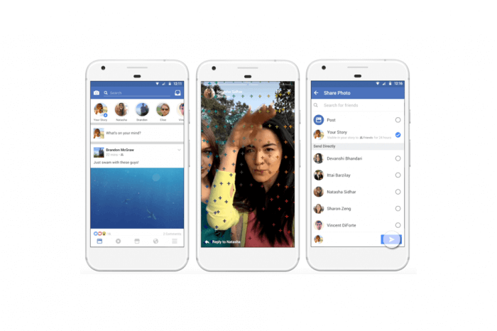 To Facebook δοκιμάζει να μεταφέρει τα Stories πάνω από το Newsfeed