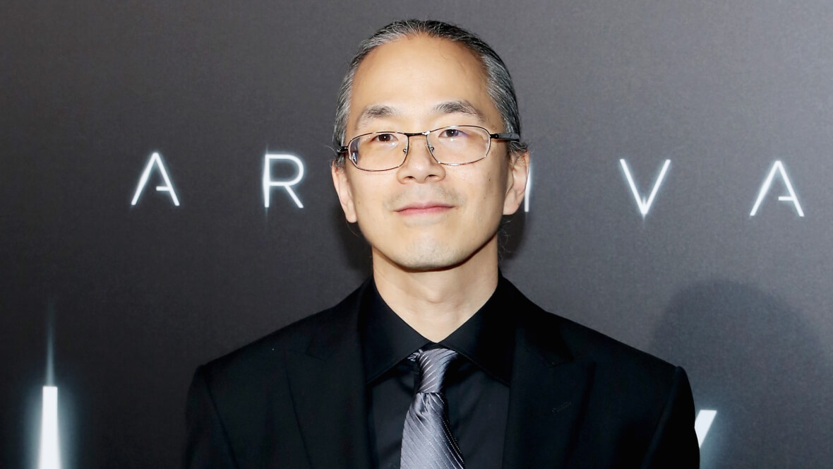 Ted Chiang at Arrival Premiere