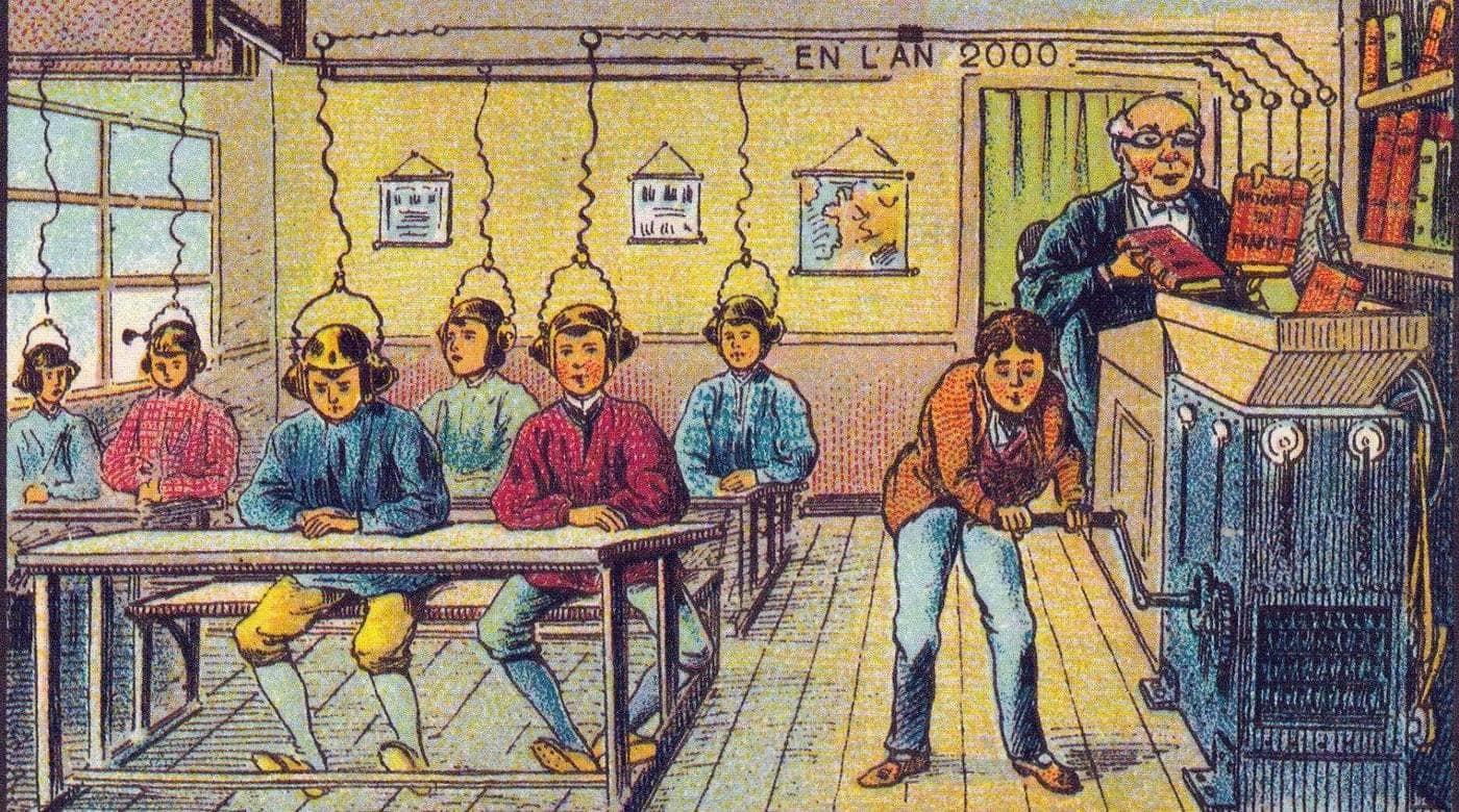 17 Οραματισμοί της Γαλλίας του 2000 από καλλιτέχνες του 1900